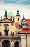 Cathedral of Saint Salvador in Prague Royalty Free Stock Photos