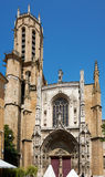 Cathedral Saint-Sauveur in Aix en Provence Stock Image