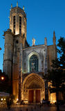 Cathedral Saint-Sauveur in Aix en Provence Royalty Free Stock Photo