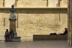 Cathedral Saint-Sauveur d`Aix-en-Provence Stock Photography