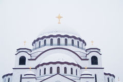 Cathedral of Saint Sava Stock Photography