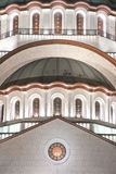 Cathedral of Saint Sava royalty free stock photography