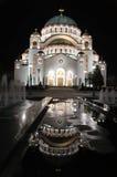 Cathedral of Saint Sava stock photos