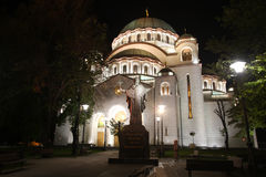 Cathedral of Saint Sava Royalty Free Stock Photos