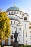 Cathedral of Saint Sava Stock Images