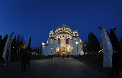 Cathedral of Saint Sava in Belgrade Royalty Free Stock Image