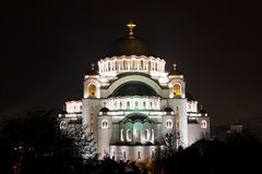 Cathedral of Saint Sava Royalty Free Stock Photo
