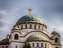 Cathedral of Saint Sava Belgrade Royalty Free Stock Photo