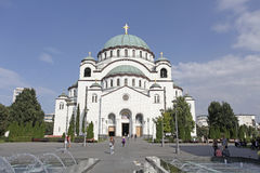 Cathedral of Saint Sava in Belgrade, Serbia Royalty Free Stock Images