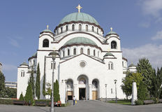 Cathedral of Saint Sava in Belgrade, Serbia Stock Photo