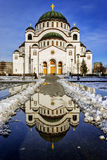 Cathedral of Saint Sava Royalty Free Stock Images