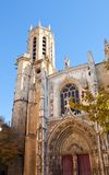 Cathedral of Saint Savior (1513). Aix-en-Provence, France Royalty Free Stock Photos