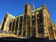 Cathedral of Saint Stephen of Metz royalty free stock image