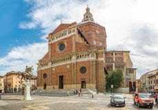 Cathedral of Saint Stephen in Pavia Royalty Free Stock Image