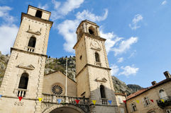 The Cathedral of Saint Tryphon Stock Photo