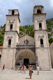 Cathedral of Saint Tryphon in Kotor, Montenegro Stock Image