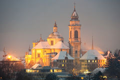 Cathedral Saint Ursen, Solothurn Royalty Free Stock Images