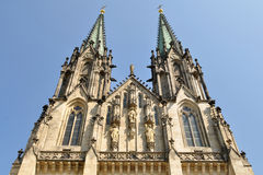Cathedral Saint Venceslas Olomouc,Czech Royalty Free Stock Photos