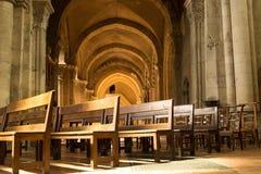 Cathedral Saint-Vincent, Chalon sur Saone, France. The interior of the Cathedral Saint-Vincent, Chalon sur Saone, France stock images