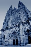 Cathedral of saint Vitus royalty free stock photos