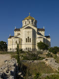 Cathedral of Saint Vladimir, Sevastopol Stock Photos