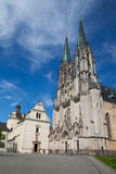 Cathedral of Saint Wenceslas, Olomouc, Czech Republic Royalty Free Stock Images