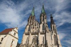 Cathedral of Saint Wenceslas, Olomouc, Czech Republic Stock Photo