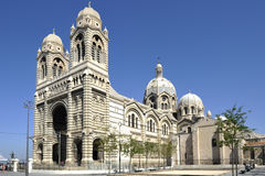 Cathedral Sainte Marie Majeure de Marseille. Picture of cathedral Sainte Marie Majeure de Marseille stock images