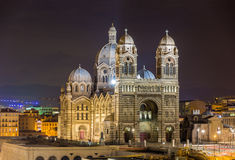 Cathedral Sainte-Marie-Majeure of Marseille - France.  Royalty Free Stock Photography