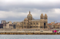 Cathedral Sainte-Marie-Majeure of Marseille - France Royalty Free Stock Photography