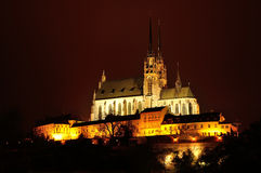 Cathedral of Saints Peter and Paul, Brno, Czech Republic Stock Photo