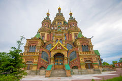 Cathedral of Saints Peter and Paul, Peterhof Royalty Free Stock Image