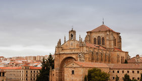 The Cathedral of Salamana Royalty Free Stock Images