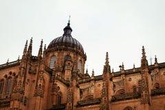 The Cathedral of Salamana Stock Photos