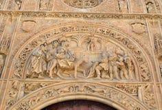 Cathedral of Salamanca Royalty Free Stock Photos