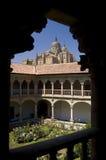Cathedral of Salamanca Stock Image