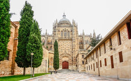 Cathedral of Salamanca, Castilla y Leon region, Spain Stock Image