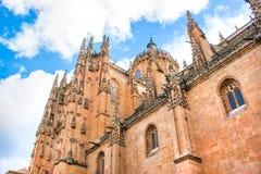 Cathedral of Salamanca, Castilla y Leon, Spain. New Cathedral of Salamanca, community of Castilla y Leon, Spain royalty free stock image
