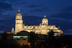 Cathedral of Salamanca Stock Image