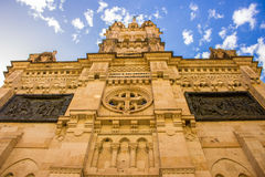 Cathedral of Salamanca. royalty free stock images