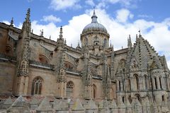 The Cathedral of Salamanca royalty free stock photo