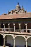 Cathedral of Salamanca and Las Duenas Convent Stock Photos