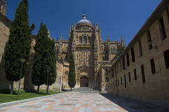 Cathedral of Salamanca. Spain Stock Images