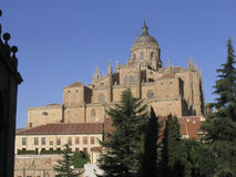 Cathedral, Salamanca, Spain. A view of Salamancas Cathedral in Spain Royalty Free Stock Photo