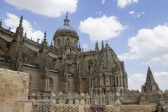 The cathedral of Salamanca Royalty Free Stock Image