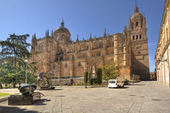 Cathedral of Salamanca, Spain Stock Images