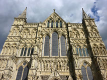 Cathedral of Salisbury, England Stock Photography