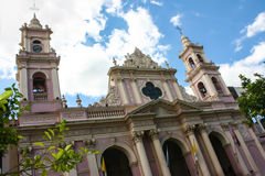 Cathedral of Salta Royalty Free Stock Images