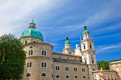 Cathedral in Salzburg. Austriaб 2009 Stock Image