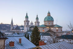 Cathedral of Salzburg, Austria Royalty Free Stock Photography